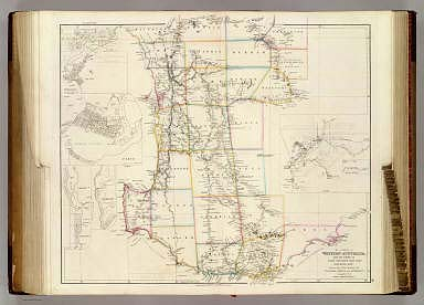 The Colony of Western Australia, from the Surveys of John Septimus Roe Esqr. Surveyor Genl. And from other Official Documents in the Colonial Office and Admiralty. Compiled by J. Arrowsmith. (with) inset maps of Fremantle, Perth, Augusta, Kelmscott and the Helena River. (Map) 36. London, Pubd. Jany. 2nd. 1843, by J. Arrowsmith, 10 Soho Square.