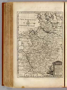 NW pt. of Germany. / Bowen, Emanuel / 1747