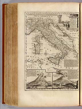 Map of Italy. / Bowen, Emanuel / 1747