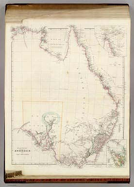 Eastern Portion of Australia By John Arrowsmith. (with) with inset map of the Torres Strait. (with) Van Diemens Land on the same scale as the Map. London, Pubd. 1st May 1842, by John Arrowsmith, 10 Soho Square.