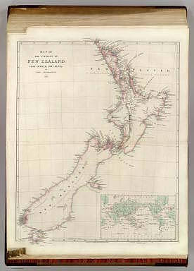 Map of the Colony of New Zealand. / Arrowsmith, John / 1844