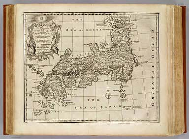 Empire of Japan. / Bowen, Emanuel ; Bellin, Jacques Nicolas, 1703-1772 / 1747