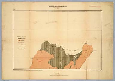 Province of Nova Scotia (Island of Cape Breton). Geological and Natural History Survey of Canada. Alfred R.C. Selwyn, LL.D., F.R.S. &c. Director. 1884. The Burland Lith. Company Montreal. Compiled and drawn by Hugh Fletcher, from plans made by the Admiralty, the Department of Crown Lands, Nova Scotia, and the Geological Survey. To illustrate Reports by Hugh Fletcher, 1879 to 1884. Sheet no. 1.