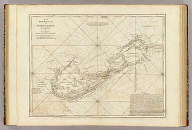 The Bermudas, or Summer's Islands. From a survey by C. Lempriere, regulated by astronomical observations. London, printed by Robt. Sayer, Map & Printseller, no. 53 in Fleet Street, as the Act directs 20 Feby. 1787.