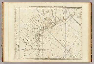 The Western Coast of Louisiana and the Coast of New Leon. By Thos. Jefferys, Geographer to His Majesty. London, printed for Robt. Sayer, Map & Printseller, no. 53 Fleet Street, as the Act directs 20th Feby. 1775.