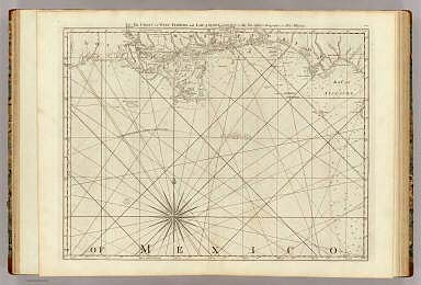 The Coast of West Florida and Louisiana. By Thos. Jefferys, Geographer to His Majesty. (London, printed for Robt. Sayer, Map & Printseller, no. 53 Fleet Street, as the Act directs 20th Feby. 1775)