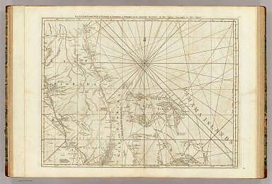 The Peninsula and Gulf of Florida or Channel of Bahama with the Bahama Islands. By Thos. Jefferys, Geographer to His Majesty. London, printed for Robt. Sayer, Map & Printseller, no. 53 in Fleet Street, as the Act directs 20 Feby. 1775.