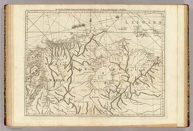 The coast of Tierra Firma from Cartagena to Golfo Triste. By Thomas Jefferys, Geographer to His Majesty. London, printed for Robt. Sayer, Map and Printseller, no. 53 in Fleet Street, as the Act directs, 20. Feby. 1775.