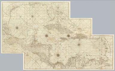 (Composite of) Compleat chart of the West Indies ... London, printed for Robt. Sayer, Map & Printseller, no. 53 in Fleet Street, as the Act directs 20th. Feby. 1775.