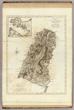 St. Lucia, done from surveys and observations made by the English whilst in their possession, by Thomas Jefferys, Geographer to the King. London, printed for Robt. Sayer, Map & Printseller, no. 53 in Fleet Street, as the Act directs 20th Feby 1775.
