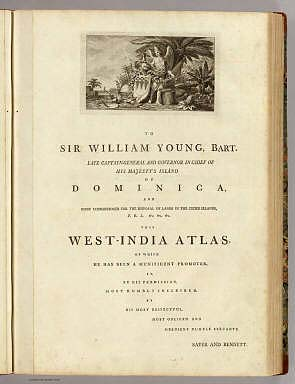 (Dedication page to) The West-India atlas: or, a compendious description Of The West-Indies. / Jefferys, Thomas / 1788