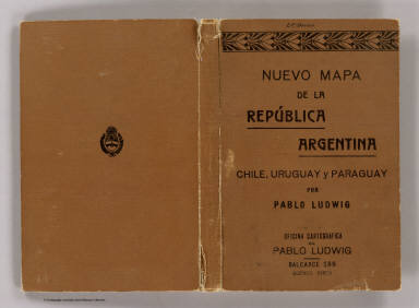 Cover: Argentina, Chile, Uruguay y Paraguay. / Ludwig, Pablo / 1914