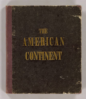 Cover: American Continent: United States, British Possessons, West Indies, Mexico, Central America. / Lubrecht, Charles ; Rosa, R. / 1864
