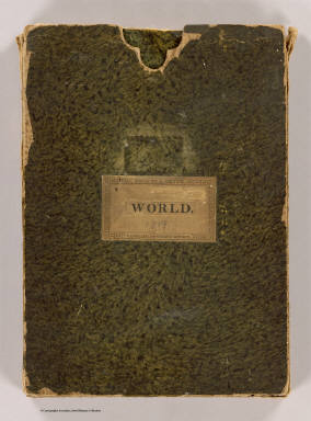 Cover: Chart of the world, Mercator's projection. / Cary, John, ca. 1754-1835 / 1819