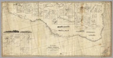 General chart of the coasts of Brasil, &c. from the River Para to Buenos-Ayres. / Laurie, Richard Holmes  ; Purdy, John  ; Findlay, Alexander George, 1812-1875 / 1853