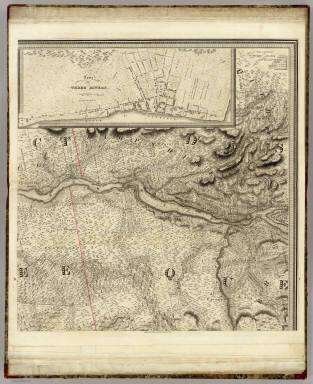 (This Topographical map of the Province of Lower Canada. Sheet) B-C. / Bouchette, Joseph ; Faden, William / 1815