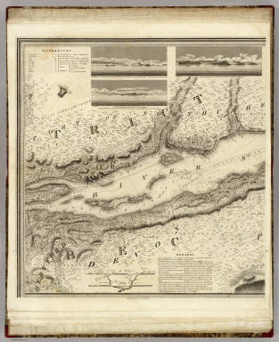 (This Topographical map of the Province of Lower Canada. Sheet) C-D. / Bouchette, Joseph ; Faden, William / 1815