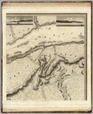 (This Topographical map of the Province of Lower Canada. Sheet) D. / Bouchette, Joseph ; Faden, William / 1815