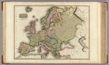Europe. Drawn under the direction of Mr. Pinkerton by L. Hebert. Neele sc. 352 Strand. London: published Sepr. 24th. 1814, by Cadell & Davies, Strand & Longman, Hurst, Rees, Orme, & Brown, Pater-noster Row.