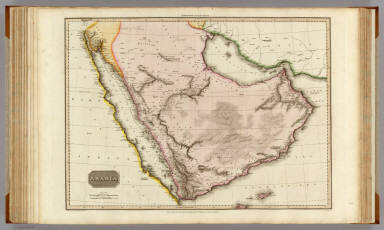 Arabia. Drawn under the direction of Mr. Pinkerton by L. Hebert. Neele sculpt. 352 Strand. London: published July 20th. 1813, by Cadell & Davies, Strand & Longman, Hurst, Rees, Orme, & Brown, Paternoster Row.