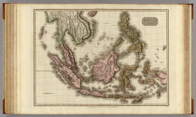 East India Isles. Drawn under the direction of Mr. Pinkerton by L. Hebert. Neele sculpt. 352 Strand. London: published April 15th. 1813, by Cadell & Davies, Strand & Longman, Hurst, Rees, Orme, & Brown, Paternoster Row.