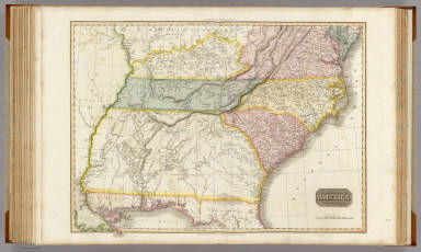United States of America, southern part. Drawn under the direction of Mr. Pinkerton by L. Hebert. Neele sculpt. 352 Strand. London: published Octr. 5th. 1809, by Cadell & Davies, Strand & Longman, Hurst, Rees, Orme, & Brown, Paternoster Row.