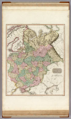 Russia in Europe. Drawn under the direction of Mr. Pinkerton by L. Hebert. Neele sculpt. 352 Strand. London: published August 1st. 1811, by Cadell & Davies, Strand & Longman, Hurst, Rees, Orme, & Brown, Pater Noster Row.