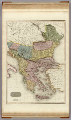 Turkey in Europe. Drawn under the direction of Mr. Pinkerton by L. Hebert. Neele sculpt. 352 Strand. London: published 1st Jany. 1814 by Cadell & Davies, Strand & Longman, Hurst, Rees, Orme, & Brown, Paternoster Row.
