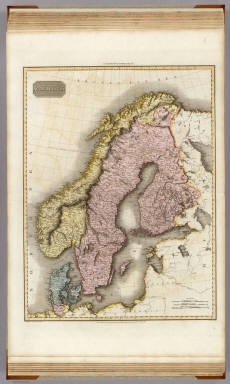 Scandinavia. Drawn under the direction of Mr. Pinkerton by L. Hebert. Neele sculpt. 352 Strand. London: published June 10th. 1809 by Cadell & Davies, Strand & Longman, Hurst, Rees, Orme, & Brown, Paternoster Row.