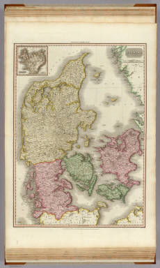 Denmark. (with inset map) Iceland. Drawn under the direction of Mr. Pinkerton by L. Hebert. Neele sculpt. 352 Strand London: published Novr. 25th. 1812, by Cadell & Davies, Strand & Longman, Hurst, Rees, Orme, & Brown, Paternoster Row.
