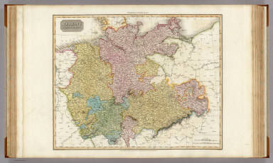 Germany north of the Mayn. Drawn under the direction of Mr. Pinkerton by L. Hebert. Neele sculpt. 352 Strand. London: published 1st Augst. 1810 by Cadell & Davies, Strand & Longman, Hurst, Rees, Orme, & Brown, Paternoster Row.