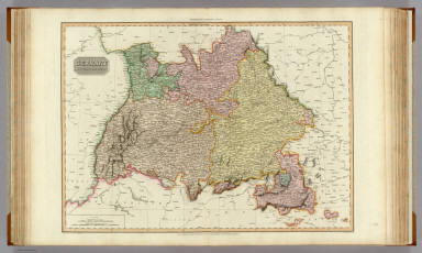 Germany south of the Mayn. / Pinkerton, John, 1758-1826 / 1811