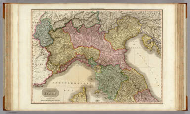 Northern Italy. Drawn under the direction of Mr. Pinkerton by L. Hebert. Neele sculpt. 352 Strand. London: published Octobr. 19th. 1809, by Cadell & Davies, Strand & Longman, Hurst, Rees, Orme, & Brown, Paternoster Row.