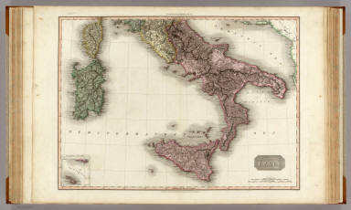Southern Italy. (with) inset map: Is. of Malta and Gozo ... Drawn under the direction of Mr. Pinkerton by L. Hebert. Neele sculpt. 352 Strand. London: published 1st March 1809, by Cadell & Davies, Strand & Longman, Hurst, Rees, Orme, & Brown, Paternoster Row.