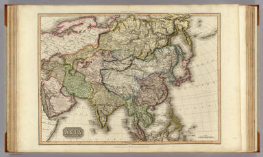 Asia. Drawn under the direction of Mr. Pinkerton by L. Hebert. Neele sculpt. 352 Strand. London: published 1st. Jany. 1814, by Cadell & Davies, Strand & Longman, Hurst, Rees, Orme, & Brown, Paternoster Row.
