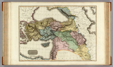 Turkey in Asia. Drawn under the direction of Mr. Pinkerton by L. Hebert. Neele sculpt. 352 Strand. London: published Sepr. 1st. 1813, by Cadell & Davies, Strand & Longman, Hurst, Rees, Orme, & Brown, Paternoster Row.
