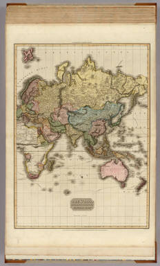The World on Mercator's projection, eastern part. / Pinkerton, John, 1758-1826 / 1812
