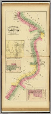 Upper Ohio River and Valley part VIII, 117 to 135 miles below Pittsburgh (with) Baresville (and) Sardis, O. (and)New Martinsville, W. Va. / Hayes, Eli L. / 1877