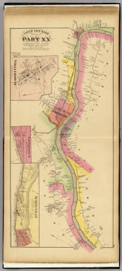 Upper Ohio River and Valley part XX, 345 to 362 miles below Pittsburgh ... (with) Wheelersburg, East Portsmouth, Ohio; Springville, Ky. / Hayes, Eli L. / 1877