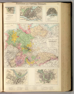 Northern and Central Germany. / Fullarton, A. & Co. / 1872