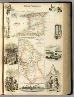 British Possessions on the North East Coast of South America. / Fullarton, A. & Co. / 1872
