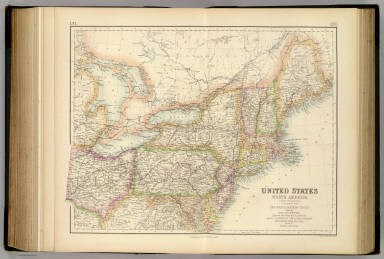 United States ... North Eastern States. / Fullarton, A. & Co. / 1872