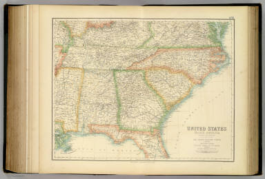 United States ... South Eastern States. / Fullarton, A. & Co. / 1872
