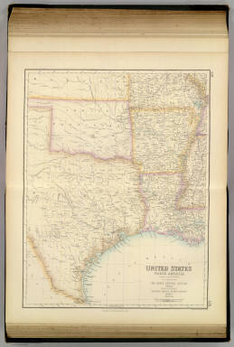 United States ... South Central Section. / Fullarton, A. & Co. / 1872