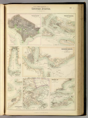 Southern Ports & Harbours in the United States. / Fullarton, A. & Co. / 1872