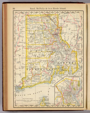 Rhode Island. / Rand McNally and Company / 1879