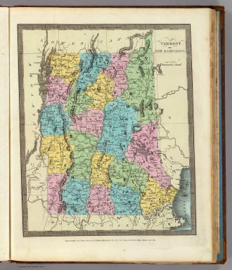 Vermont And New Hampshire. / Burr, David H., 1803-1875 / 1835
