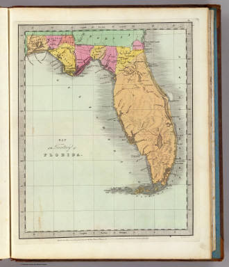 Map of the Territory of Florida. / Burr, David H., 1803-1875 ...