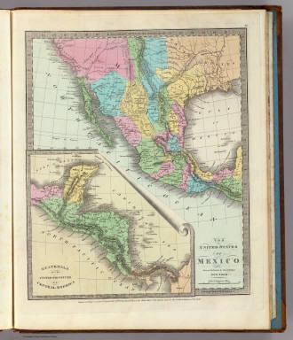 1803 map of united states. United States Of Mexico.