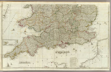 England and Wales (Southern section) / Rocque, John / 1790